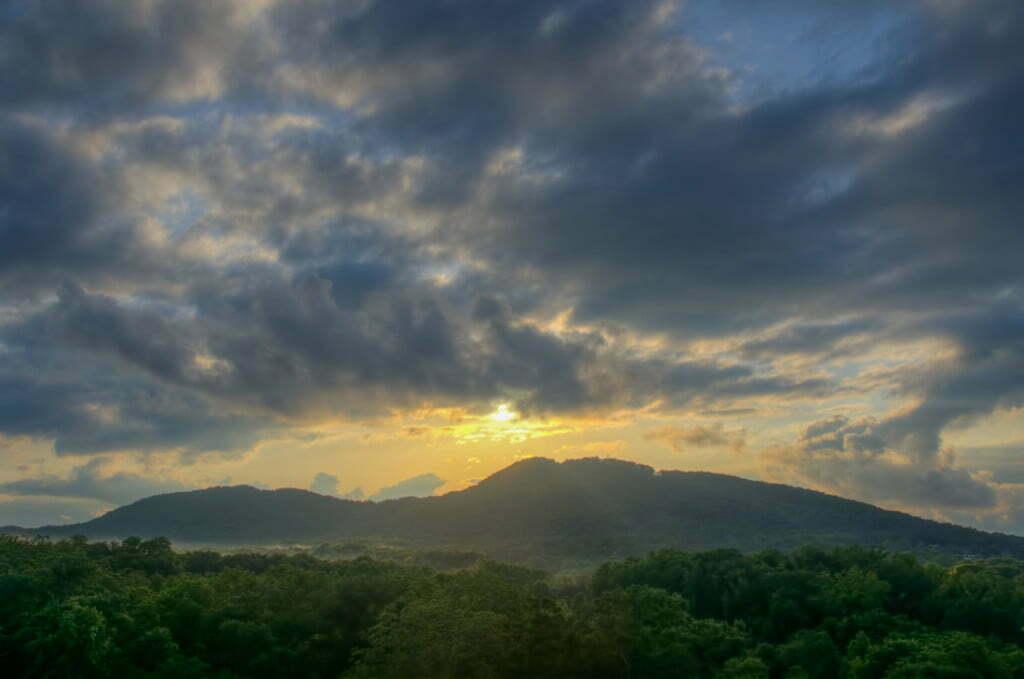 Kennesaw Mountain Sunset
