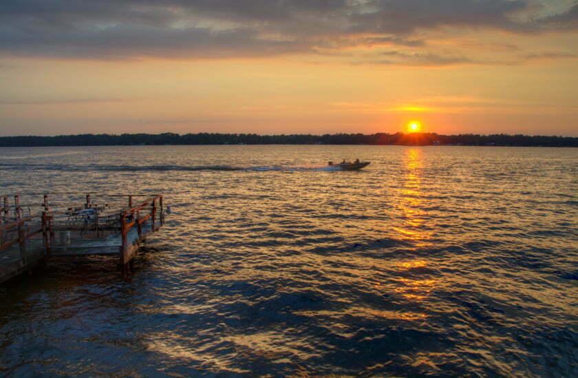 blackshear sunset boat